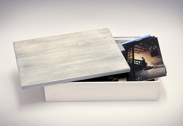 Contenitore foto legno - aperto